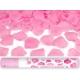Rokas plaukškene-konfeti  ar rožlapiņām, rozā, 40 cm