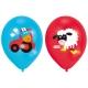 """Baloni """"Jautra Ferma"""" 28 cm., 6 gab., piepūšami ar hēliju vai gaisu"""