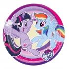 """8 Šķīvīši """"My Little Pony"""", 18 cm"""