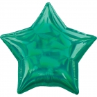 Standartahologrāfiskāiridescenceszaļāzvaigznefoilbaloniņš