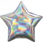 Standartahologrāfiskāiridescencessudrabazvaigznefoilbaloniņš