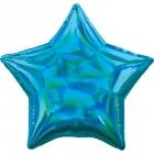 Standartahologrāfiskāiridescencesciāna zvaigznefoilbaloniņš