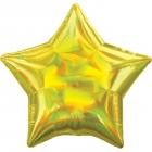 Standartahologrāfiskāiridescencesdzeltena zvaigznefoilbaloniņš
