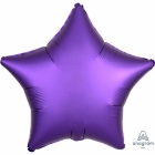 "Standard ""Satin Luxe Purple Royal"" foil balons ZVAIGZNE 43 cm"