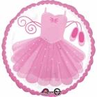 "Standard """"Ballerina Tutu"" foil baloniņš 43 cm"