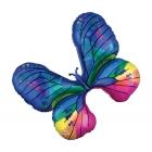 """Folijas hēlija balons """"Maskarādes tauriņš"""", 78 x 68 cm,"""