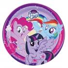 """8 Šķīvīši """"My Little Pony"""", 23 cm"""