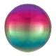 Varavīksne Folija balons Orbz
