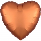 """Zvaigznes formas folijas balons """"Satin Luxe  DZINTARA krāsa"""", iepakots, 43cm"""