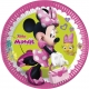 8 Papīra  Šķīvji  23 cm MINNIE HAPPY HELPERS DISNEY