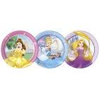 Šķīvji Princese  Disney 8 gab  23 cm