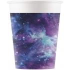 Papīra glāzes 8.gab GALAXY 200 ml