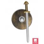 Bruņinieka ieroču komplekts - zobens un vairogs
