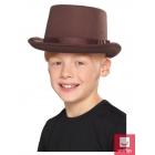 Cilindra cepure brūna, bērnu izmērs