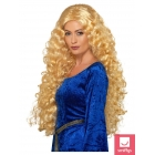 Karalienes blonda parūka, ekstra gara