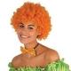 Oranžā diskotēkas parūka