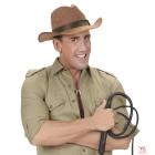 Kovboju zamša cepure, brūna,  pieaugušu izmērs
