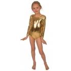 Bodijs sporta dejām zeltā 116 cm