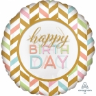Pastel Celebration Jumbo folijas balons 71 cm
