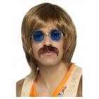 Hipiju dziedātāja komplekts. Komplektā ietilpst - parūka, ūsas , brilles parūka