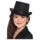 Cilindra cepure melna, bērnu izmērs