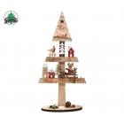 Ziemassvētku eglīšu rotājums no koka