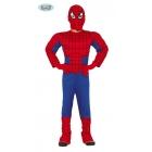 Cilvēks - zirneklis  tērps  5-6 gādu vecumā bērniem  kombinezons kapuce