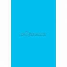 Galdauts no plastika bez zīmējuma, koši zila  krāsā, 137 cm x 274 cm