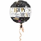 """Folijas hēlija balons  """"Happy New Year"""", izmērs 43 cm"""