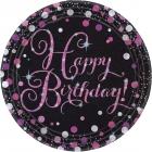 Happy Birthday Prismatic  šķiviji 22,8 cm 8.gab