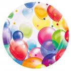 Baloni Papīra šķiviji 22,8 cm 8.gab