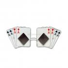 Комические очки посетителя казино