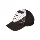 Līgavaiņa cepure melnā krāsā