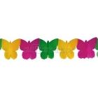 Бумажная гирлянда, бабочки, 4 м