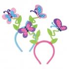 Головной убор -  бабочки