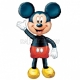 132 cm AirWalker Staigājošs  folija balons   Tēma: Mickey