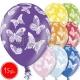 "12""/30 cm lateksa baloni, Tauriini, 15 gab."