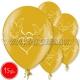 """12""""/30 cm lateksa baloni, Baloži, zelts, 15 gab."""