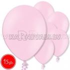 """10.5""""/27см шар из латекса  пастель, светло-розовый 15 шт."""