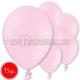 "10.5""/27cm  lateksa balons, pastels, gaiši rozā,  15 gab."
