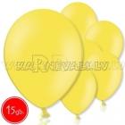 """10.5""""/27см шар из латекса  пастель, желтый, 15 шт."""