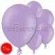 "10.5""/27cm  lateksa balons, pastels, lavenders,  15 gab."