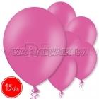 "10.5""/27cm  lateksa balons, pastels, rozā,  15 gab."