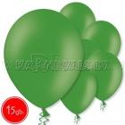 """10.5""""/27см шар из латекса  пастель, зеленый, 15 шт."""