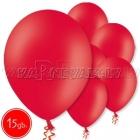 """10.5""""/27см шар из латекса  пастель, красный, 15 шт."""
