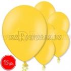 """10.5""""/27см шар из латекса  пастель, ярко-желтый, 15 шт."""