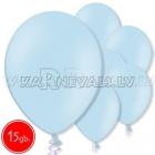 """10.5""""/27см шар из латекса  пастель, небесно-голубой, 15 шт."""