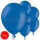 "10.5""/27cm  lateksa balons, pastels, zils,  15 gab."