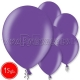 "12""/30cm lateksa balons, metalliks, purpurs, 15 gab."