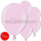 """12""""/30см шар из латекса,  металлик, розовый, 15 шт."""